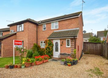 Thumbnail 2 bed semi-detached house for sale in Deerfield Close, Buckingham