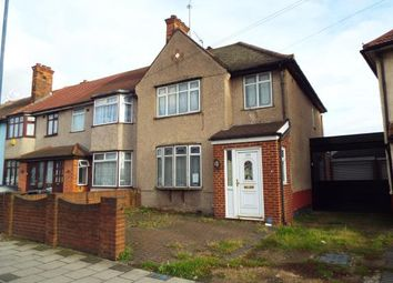 Thumbnail 3 bed end terrace house for sale in Dagenham, Essex, United Kingdom