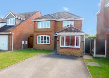 Thumbnail 4 bedroom detached house for sale in Appian Close, Borrowash, Derby