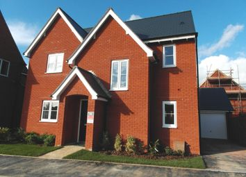 Thumbnail 4 bedroom detached house to rent in Armstrong Road, Stoke Orchard