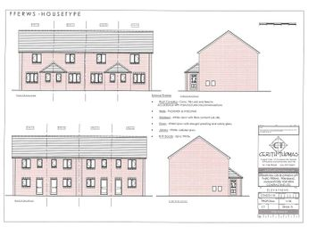 Thumbnail 2 bed end terrace house for sale in Parc Fferws, Ammanford, Carmarthenshire.