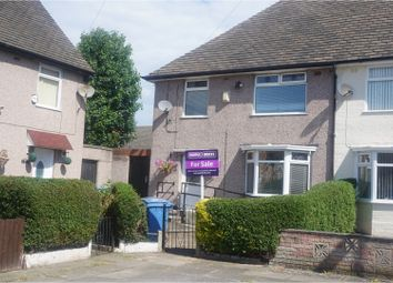 Thumbnail 3 bedroom end terrace house for sale in Wellbrook Close, Liverpool