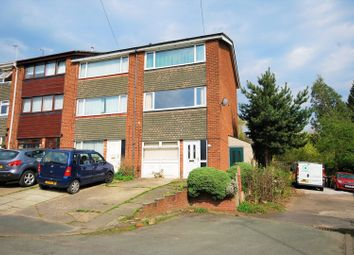 Thumbnail 4 bed town house for sale in Knowsley Crescent, Stockport