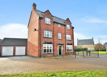 Thumbnail 5 bedroom detached house for sale in Main Street, Mawsley Village, Kettering, Northants