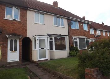 Thumbnail 3 bedroom terraced house for sale in Clinton Road, Solihull, West Midlands, England