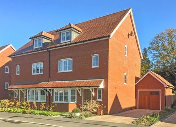 Thumbnail 4 bed semi-detached house for sale in Wood Croft, Billingshurst, West Sussex