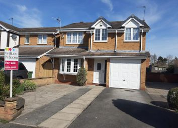Thumbnail 4 bed detached house for sale in Nightingale Grove, Gateford, Worksop
