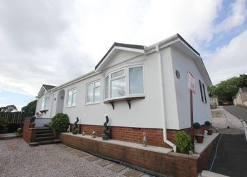 Thumbnail 3 bed mobile/park home for sale in Falcon Park, Totnes Road, Paignton