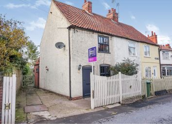 Thumbnail 2 bed end terrace house for sale in Burns Lane, Mansfield