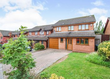 Thumbnail 4 bed detached house for sale in Oakford Drive, Coventry