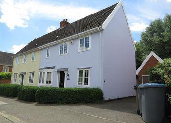 Thumbnail 3 bed property to rent in Badingham Road, Framlingham, Woodbridge