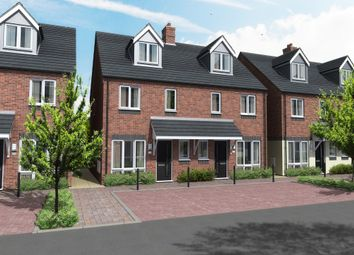 Thumbnail 3 bed town house for sale in Wood Court, Wood Street, Burton-On-Trent