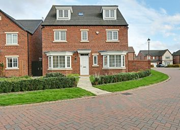 Thumbnail 5 bed detached house for sale in Scholars Drive, Hull