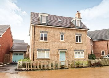Thumbnail 4 bed detached house for sale in Battle Avenue, Monksmoor, Daventry