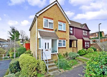 Thumbnail 2 bed semi-detached house for sale in Brompton Hill, Gillingham, Kent