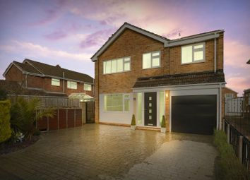 Thumbnail 4 bed detached house for sale in Walk Mill Drive, Hucknall, Nottinghamshire