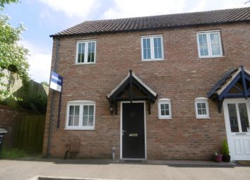 Thumbnail 3 bedroom semi-detached house for sale in Meldrum Drive, Gainsborough