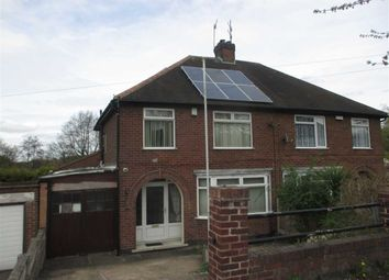 Thumbnail 3 bed semi-detached house to rent in Greenhills Road, Eastwood, Nottingham