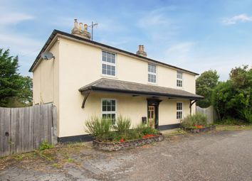 Thumbnail 4 bed detached house for sale in Cambridge Road, Foxton, Cambridge
