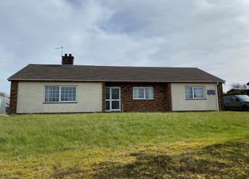 Thumbnail 4 bed bungalow for sale in Plwmp, Ceredigion