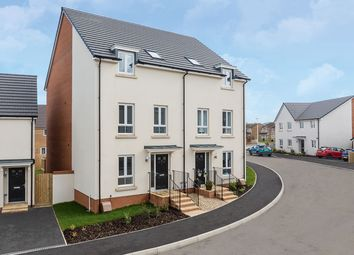 "Thumbnail 4 bedroom semi-detached house for sale in ""The Wellington"" at Swallow Field, Roundswell, Barnstaple"