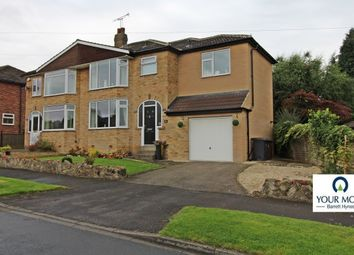 Thumbnail 4 bed semi-detached house for sale in Crofton Rise, Leeds