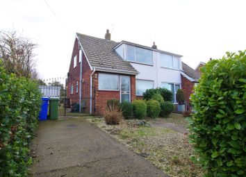 Thumbnail Semi-detached house for sale in Holme Close, Paull, Hull