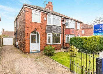 Thumbnail 3 bed semi-detached house for sale in Mansfield Close, Denton, Manchester