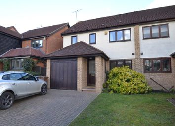 Thumbnail 4 bed semi-detached house to rent in The Hawthorns, Ware