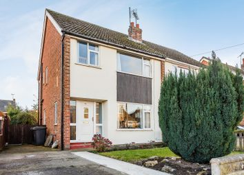 Thumbnail 3 bed semi-detached house for sale in Wolsey Croft, Leeds