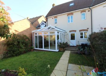 Thumbnail 4 bed end terrace house for sale in Queensbury Lane, Milton Keynes