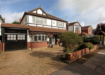 Thumbnail 4 bed detached house for sale in Darby Crescent, Sunbury-On-Thames, Surrey