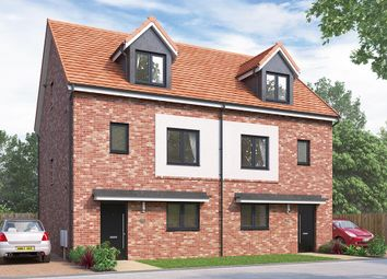 "Thumbnail 4 bed semi-detached house for sale in ""The Weybridge"" at Vigo Lane, Chester Le Street"