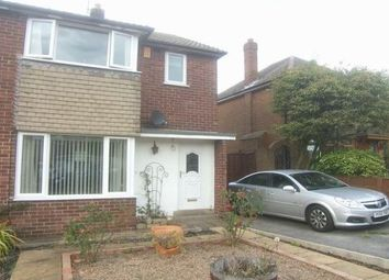 Thumbnail 3 bed property to rent in Woolgreaves Avenue, Sandal, Wakefield