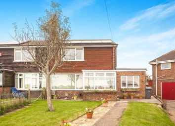 Thumbnail 2 bed semi-detached house for sale in Citadel Crescent, Dover, Kent, .