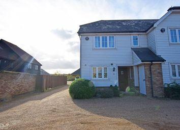 Thumbnail 3 bedroom end terrace house for sale in Russett Farm, Rainham, Rainham
