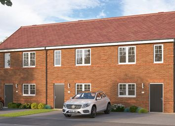 "Thumbnail 2 bed terraced house for sale in ""The Beckbridge Mid"" at Etwall Road, Mickleover, Derby"
