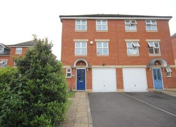 Thumbnail 4 bed town house to rent in Usher Close, Bedford