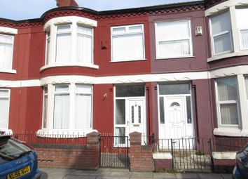 Thumbnail 3 bed terraced house to rent in Glengariff Street, Liverpool