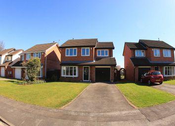 Thumbnail 4 bedroom detached house for sale in Evesham Grove, Hurworth, Darlington