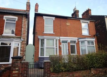 Thumbnail 2 bedroom semi-detached house for sale in Ipswich, Suffolk