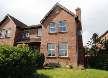 Thumbnail 4 bed semi-detached house for sale in Copperwood Drive, Carrickfergus