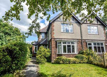 Thumbnail 3 bed semi-detached house for sale in Crookdole Lane, Calverton, Nottingham