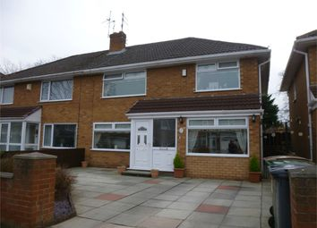 Thumbnail 4 bed semi-detached house to rent in Oakland Drive, Upton, Wirral, Merseyside
