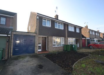 Thumbnail 3 bed semi-detached house to rent in Marston Crescent, Countesthorpe, Leicester