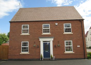 Thumbnail 4 bed detached house to rent in Peregrine Road, Hucknall, Nottingham