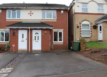 Thumbnail 2 bed semi-detached house to rent in Badham Close, Caerphilly