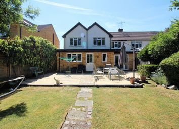 Thumbnail 4 bed semi-detached house for sale in Park Crescent, Elstree