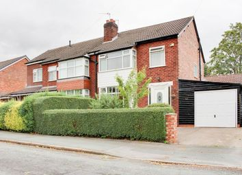 3 bed semi-detached house for sale in Granby Road, Cheadle Hulme, Cheadle SK8