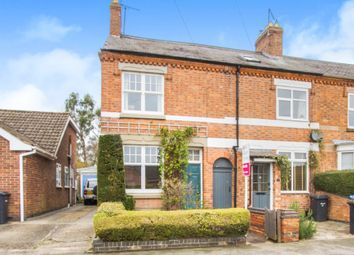 Thumbnail 3 bed end terrace house for sale in Kilby Road, Fleckney, Leicester